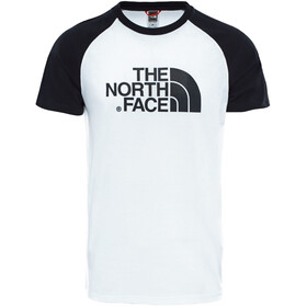The North Face Raglan Easy SS Tee Men TNF White/TNF Black